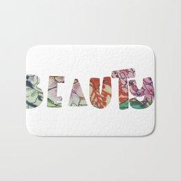 Beauty fabric art Bath Mat