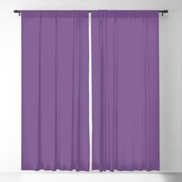 Dark Lavender Dream 1 - Color Therapy Blackout Curtain