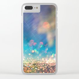 Dazzling lights I Clear iPhone Case
