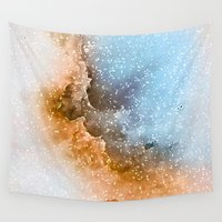 wizard Wall Tapestries featuring Wizard Nebula by The Mute Robot Gallery