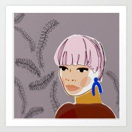 Willa Art Print