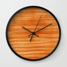 Beautiful  Orange Wall Clock
