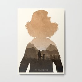 Clementine (TWD) Metal Print