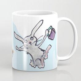 Flying Pig Tea Party Coffee Mug