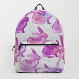 Watercolor Bunnies 1L by Kathy Morton Stanion Backpack