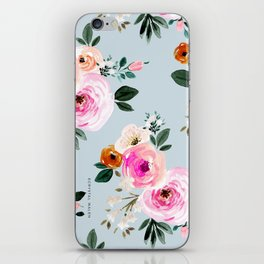 Summer Beach Rose iPhone Skin