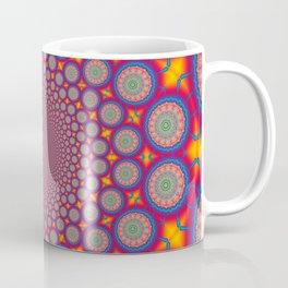 BBQSHOES: Wheels Of Time II Fractal Mandala Coffee Mug