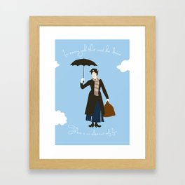 In every job, there is an element of fun Framed Art Print