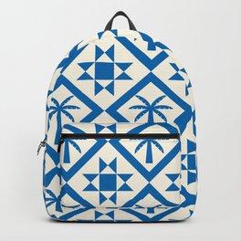 Bohemian Geometric Pattern 04A Backpack