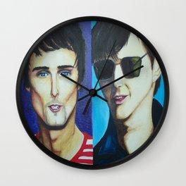 Matt Bellamy and Alex Turner Wall Clock