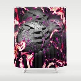Nuke Shower Curtain