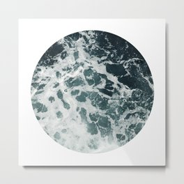 ocean porthole I Metal Print