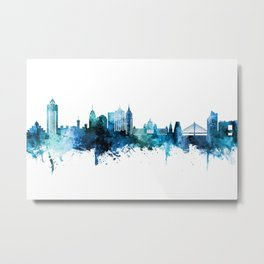 Bengaluru Skyline India Bangalore Metal Print