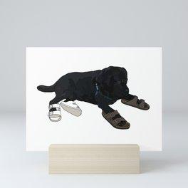 Sandal Basco Mini Art Print