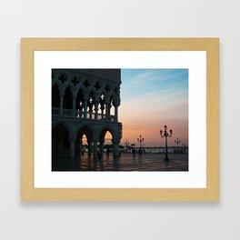 Venice at Dawn 1 Framed Art Print
