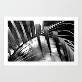 Palm Tree Noir #8 Art Print