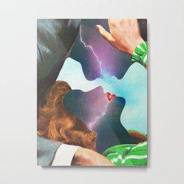 Electric Love Metal Print