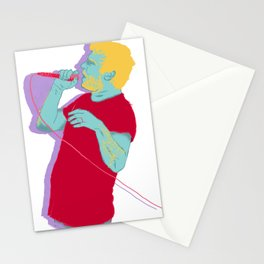 He's a real boy... Stationery Cards