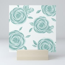 Soft and Elegant Roses Mini Art Print