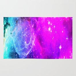 galaxy unicorn gradi Rug