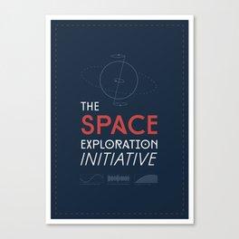 The Space Exploration Initiative Canvas Print