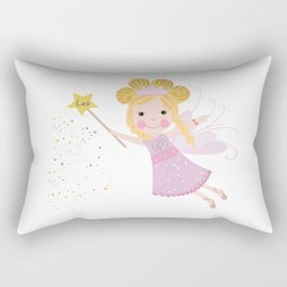 Leo zodiac sign Rectangular Pillow