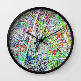Abstract Autumn Winter Two Wall Clock