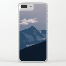 Alaskan Waves Clear iPhone Case