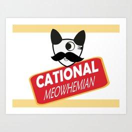 Catty Bo Art Print