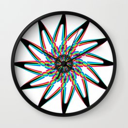 Edelweiss - White Wall Clock