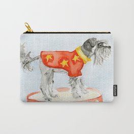 Starry Scruffy Schnauzer Carry-All Pouch