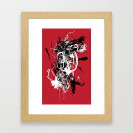 Red Spider - Abstract Art, Art Prints Framed Art Print