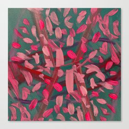 Vivacity in Pink Canvas Print