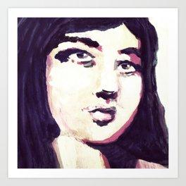 Portrait 116 Art Print