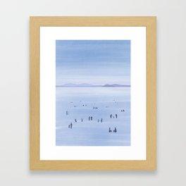 Beach in Croatia Framed Art Print