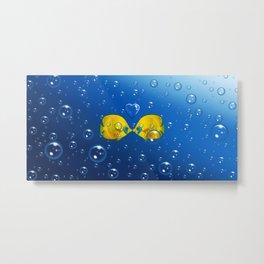 Fish love Metal Print
