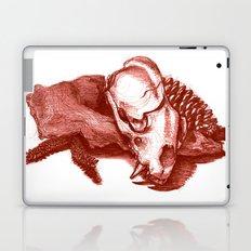 Sketchy Skull Laptop & iPad Skin