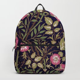 William Morris Sweet Briar Floral Art Nouveau Backpack