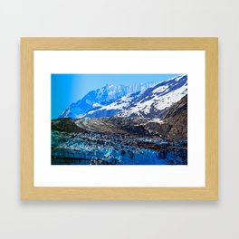 Glacier Bay National Park Framed Art Print