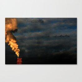 Fog that Devoured the World Canvas Print