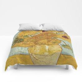 Van Gogh Sunflowers Comforters