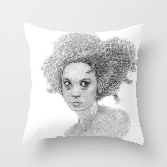 #35 - Insomniac Throw Pillow