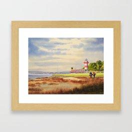 Harbour Town Golf Course SC Framed Art Print