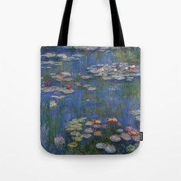 WATER LILIES - CLAUDE MONET Tote Bag