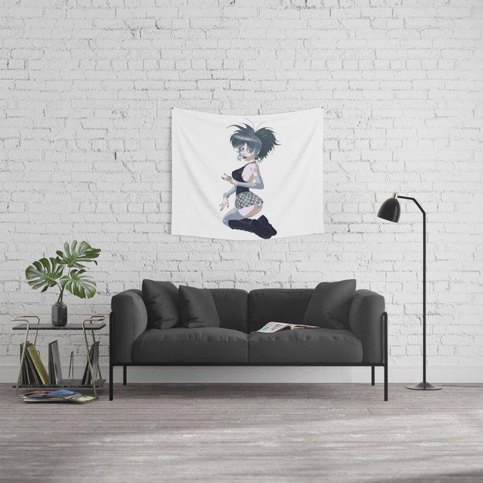 Candy Goth Dark  Wall Tapestry
