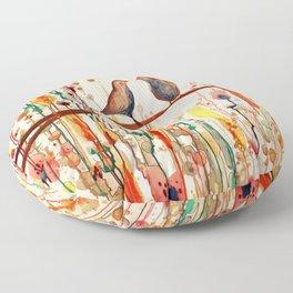 les gypsies Floor Pillow