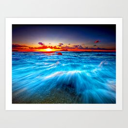 Fast Sea Art Print