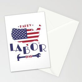 Happy Labor Day. Stationery Cards