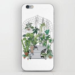 greenhouse illustration iPhone Skin