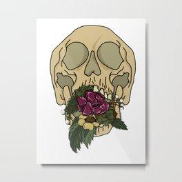 Deathly bouquet Metal Print
